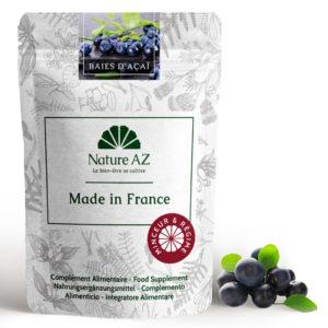 Baies d acai - Açai berry en poudre Nature AZ