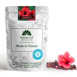 Hibiscus fleurs séchées en infusion Nature AZ