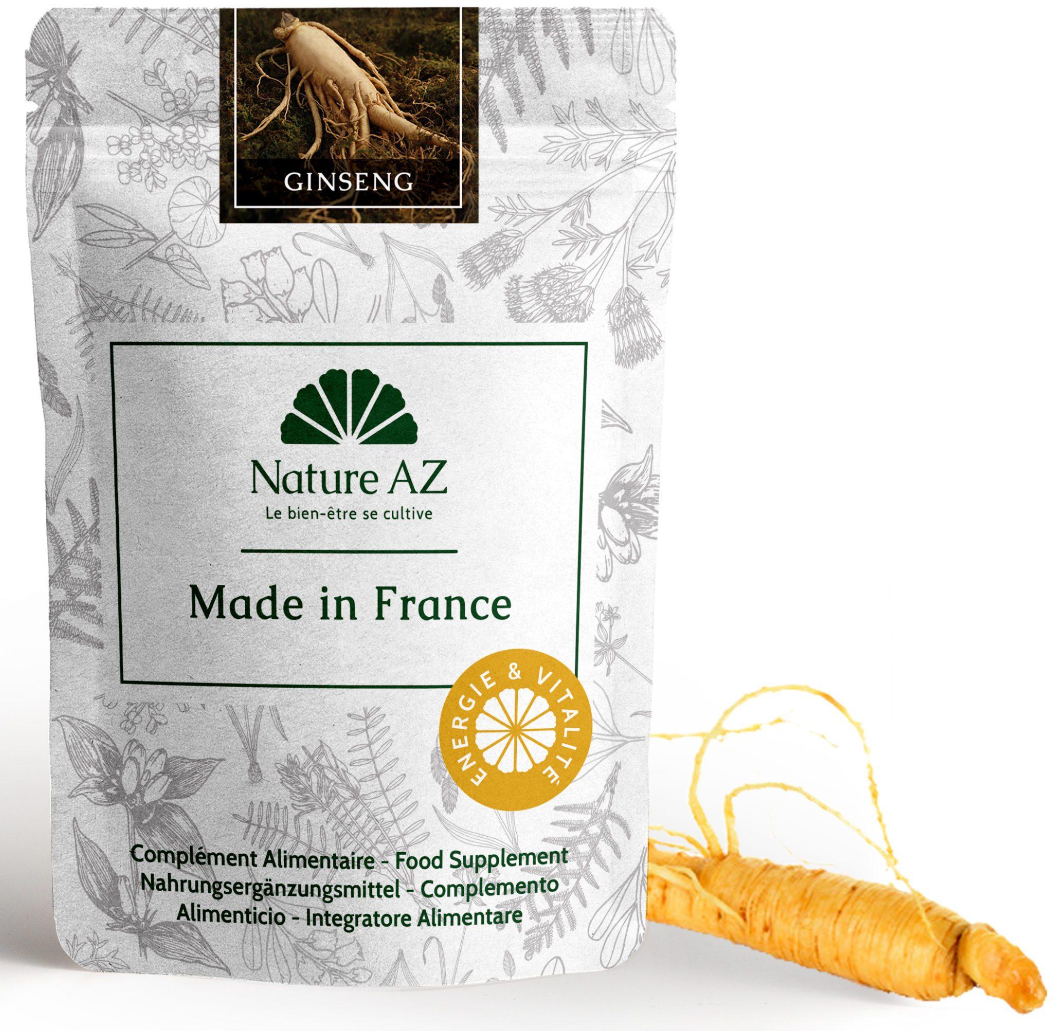 Panax Ginseng Blanc en sachet poudre 100 gr